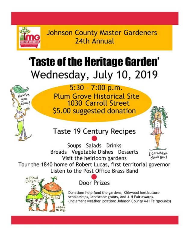 Taste of PG Flyer