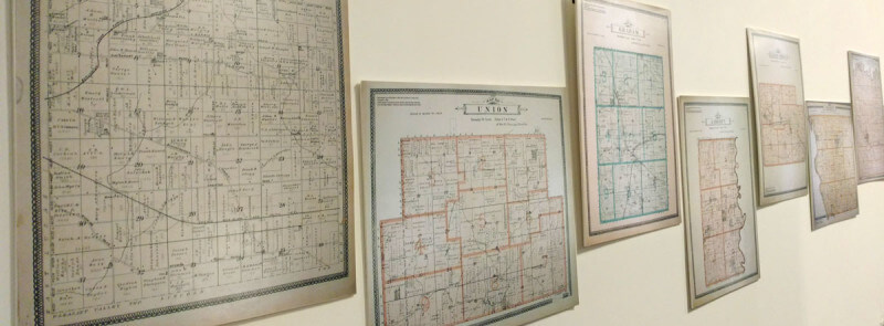 Johnson County Township Maps